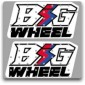 1990 BW80 WICKED TOUGH TANK DECALS GRAPHICS